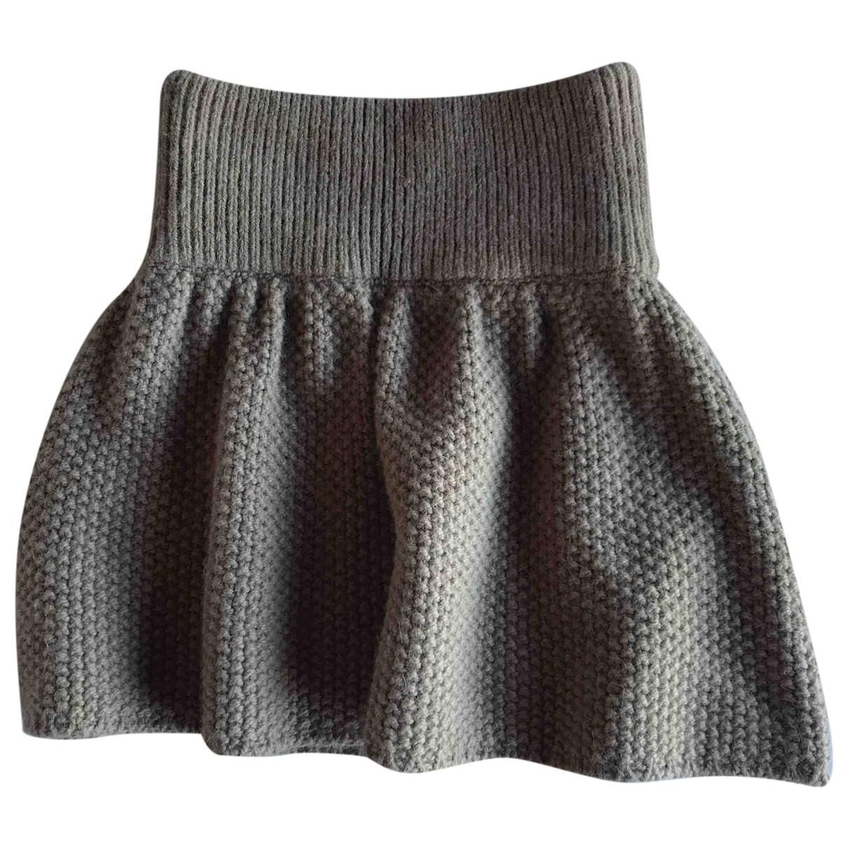 Mini falda de Lana Leetha