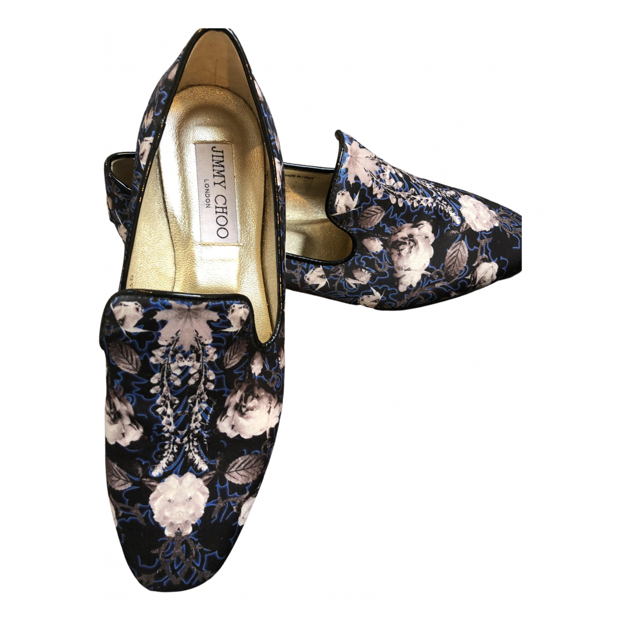 Jimmy Choo \N Multicolour Leather Flats for Women 36 EU