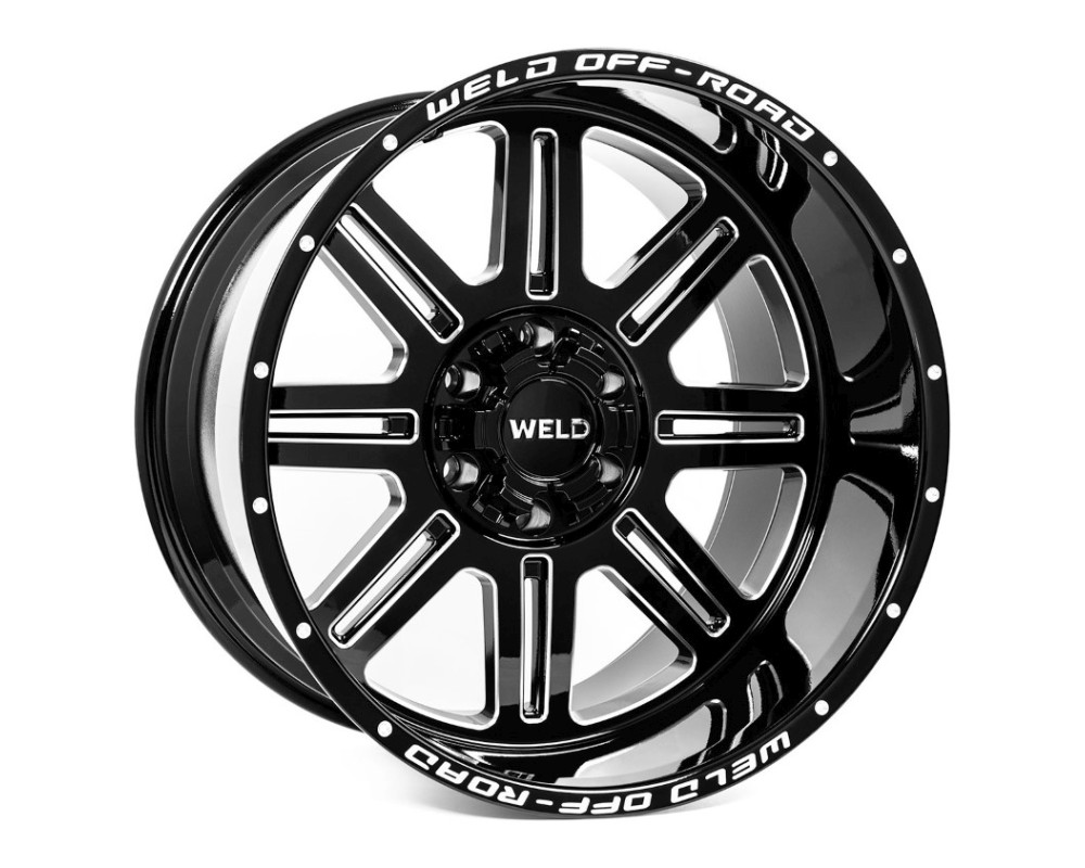 Weld Racing W10309057575 Chasm Wheel 20x9 5x127|5x139.7 20mm Gloss Black Milled