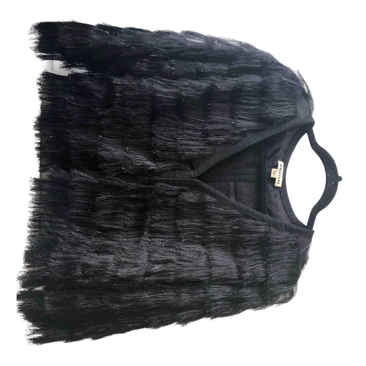 Whistles \N Black jacket for Women S International