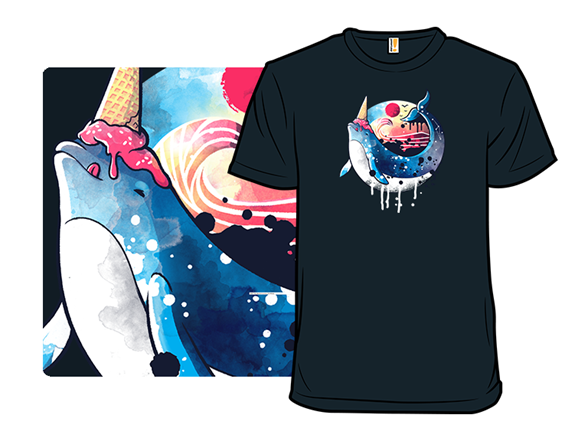 Narwhal Summer T Shirt