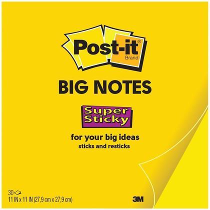Post-it@ Big Notes - 11 x 11