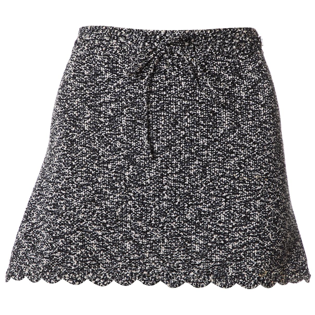 Chanel \N Black Cotton skirt for Women 38 FR