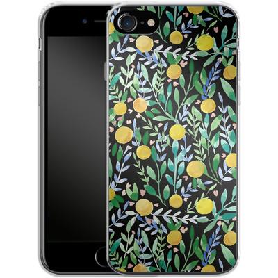 Apple iPhone 7 Silikon Handyhuelle - Bright Blossoms von Iisa Monttinen