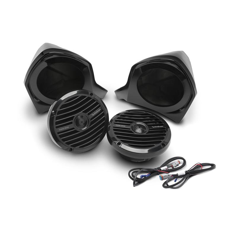 Rockford Fosgate YXZ-UPPER Add-On Front Upper Speaker Kit For Use w/YXZ-Stage2 | YXZ-Stage3 | YXZ-Stage4 Kits