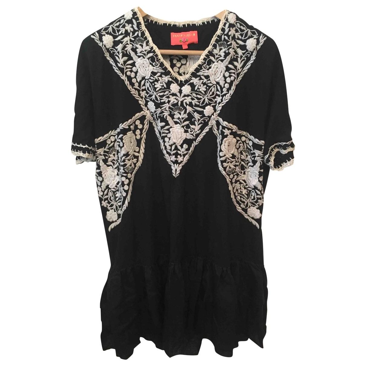 Manoush \N Black Cotton dress for Women 42 FR