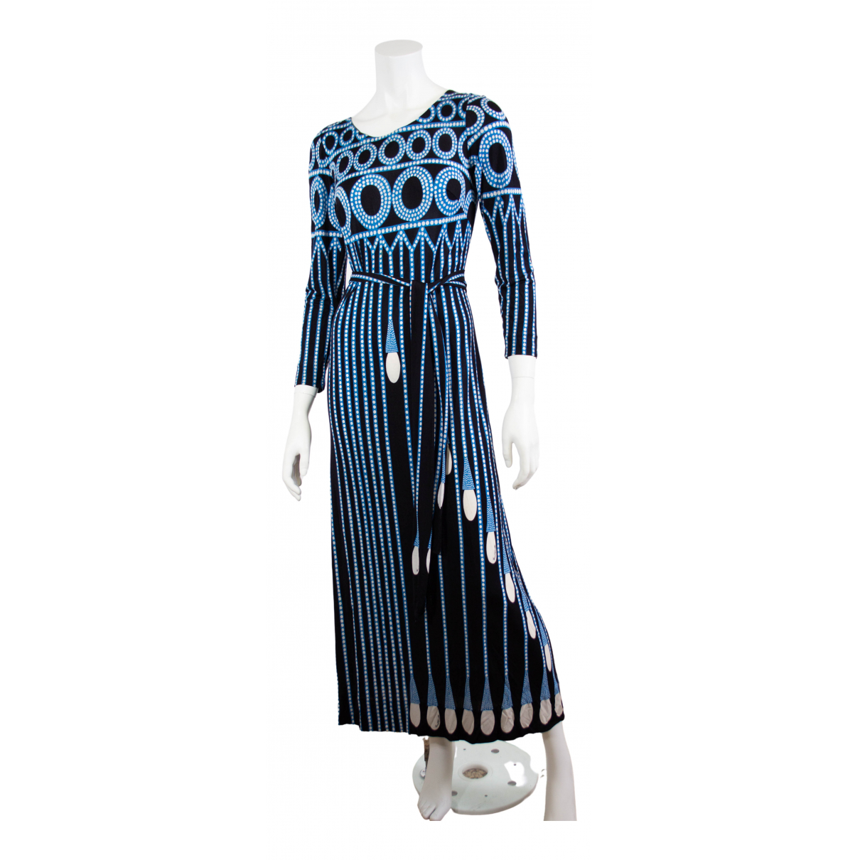 Non Signé / Unsigned N Blue dress for Women 10 UK