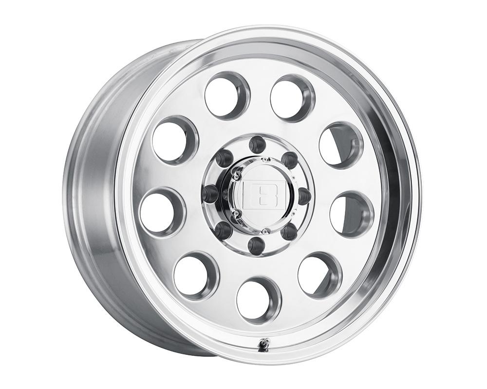 Level 8 Hauler Wheel 16x8.5 8x170 -6mm Polished