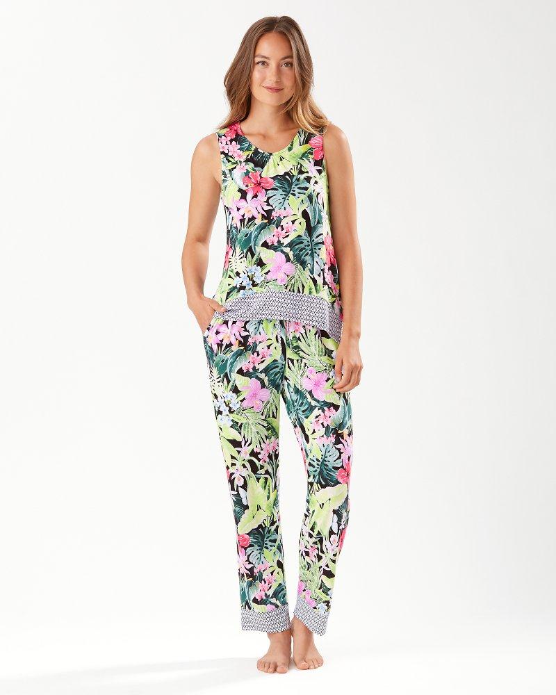 Night Tropical Pajama Set