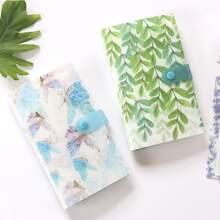 1 Stueck Kartenhalter mit Blumen & Schmetterling Muster
