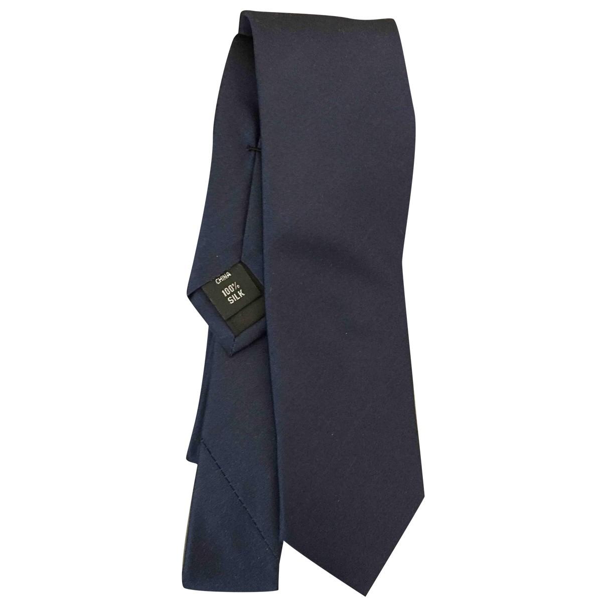 Calvin Klein \N Blue Silk Ties for Men \N