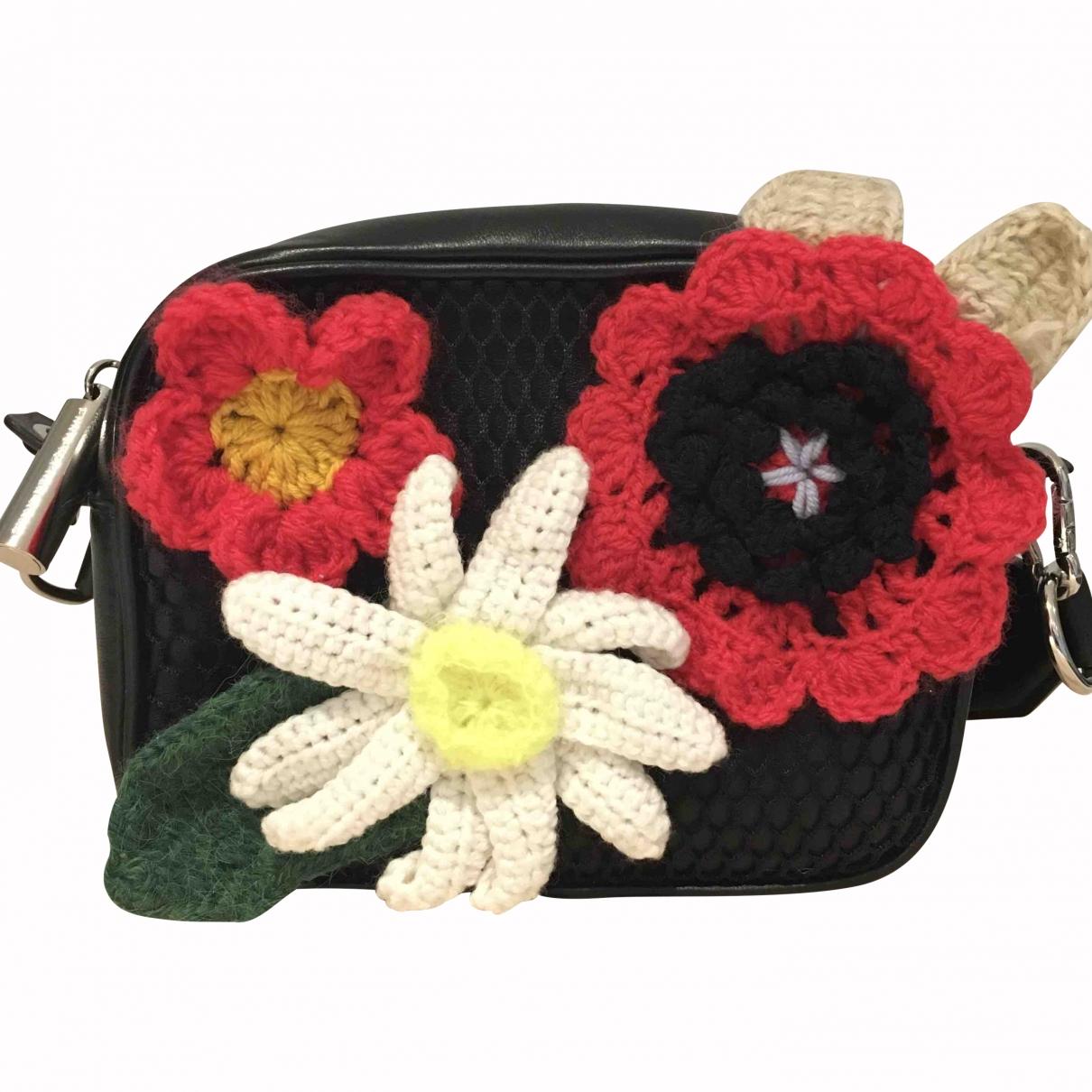 Christopher Kane \N Black Leather handbag for Women \N