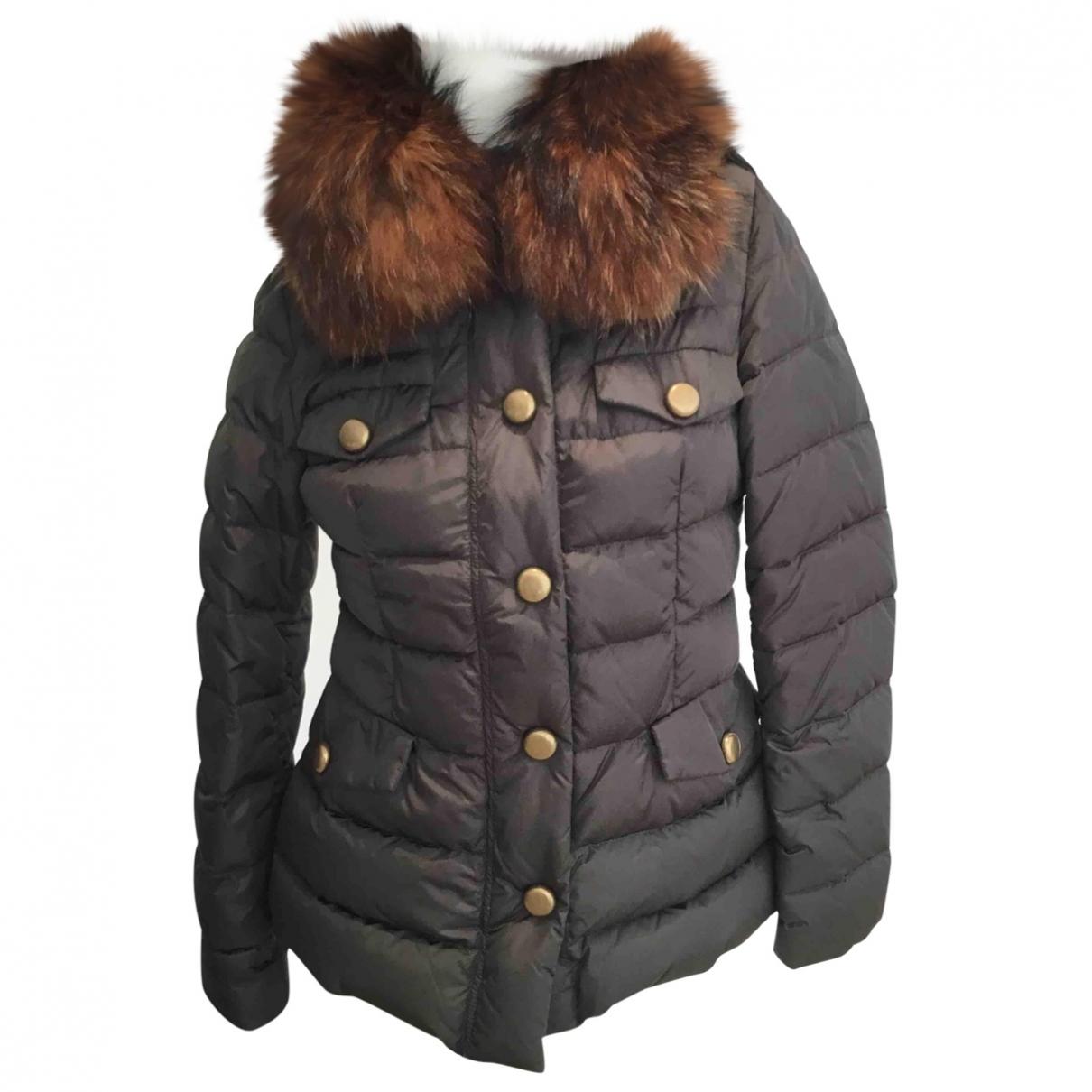 Moncler - Manteau   pour femme - kaki