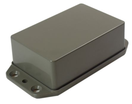 CAMDENBOSS Series 2000, Grey ABS Enclosure, IP65, Flanged, 95 x 50 x 27mm