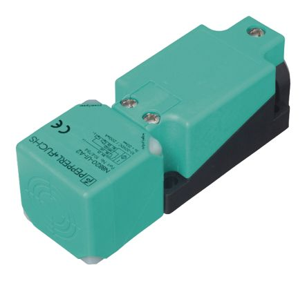 Pepperl + Fuchs Inductive Sensor - Block, NPN-NO Output, 15 mm Detection, IP68, IP69K, M20 Gland Terminal