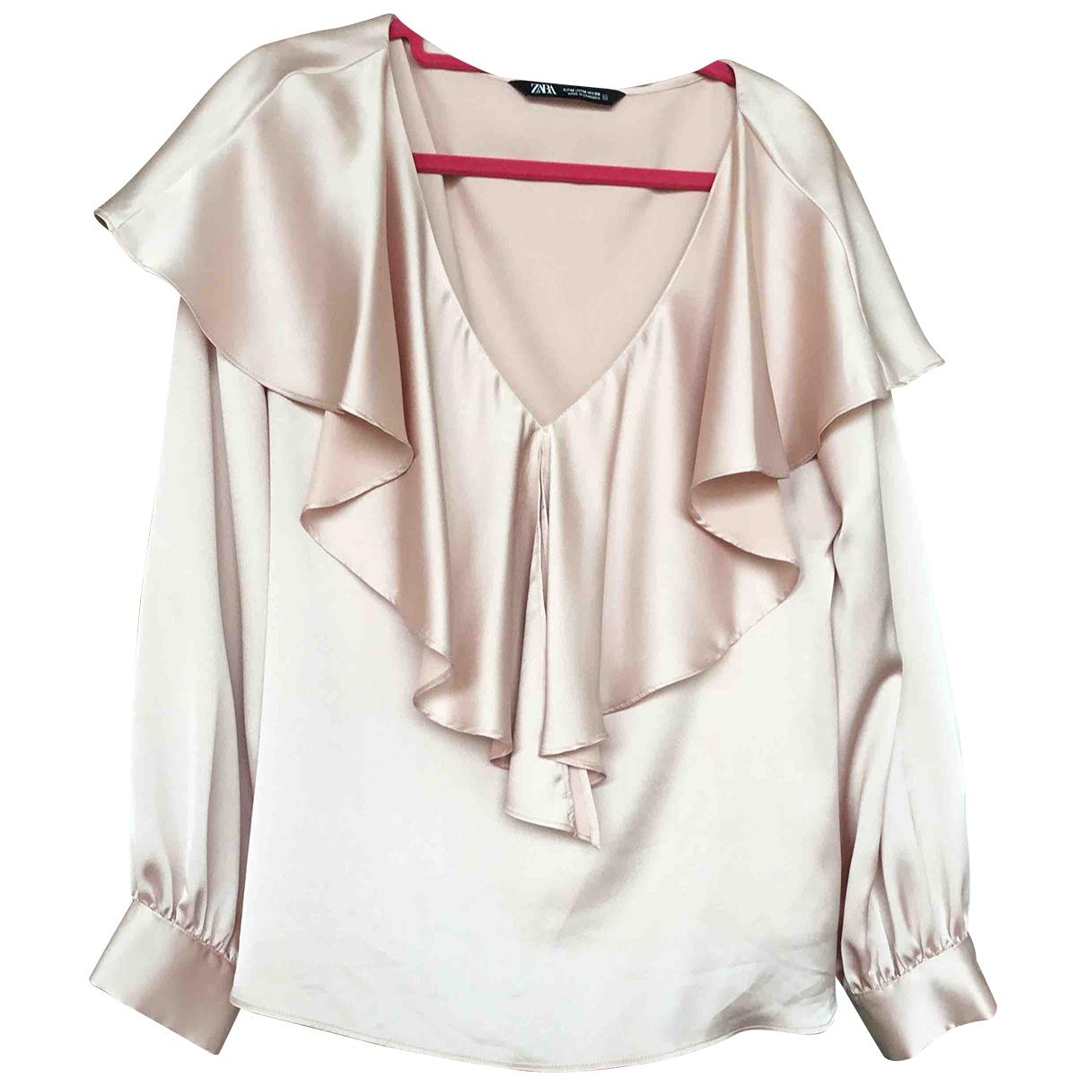 Zara - Robe   pour femme - rose