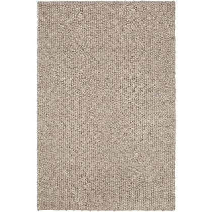 Neravan NER-1002 2' x 3' Rectangle Modern Rug in Taupe