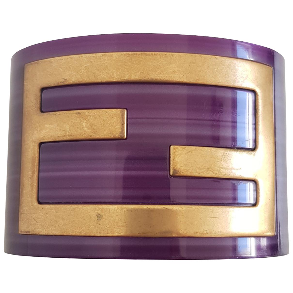 Fendi The Fendista Armband in  Lila Kunststoff