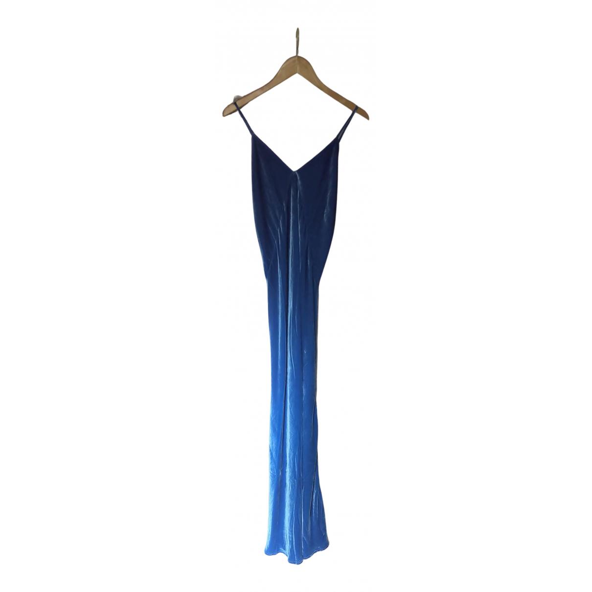 Rat & Boa - Robe   pour femme en soie - bleu