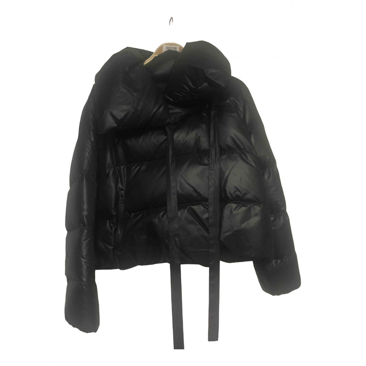 Non Signé / Unsigned \N Black coat for Women XS International