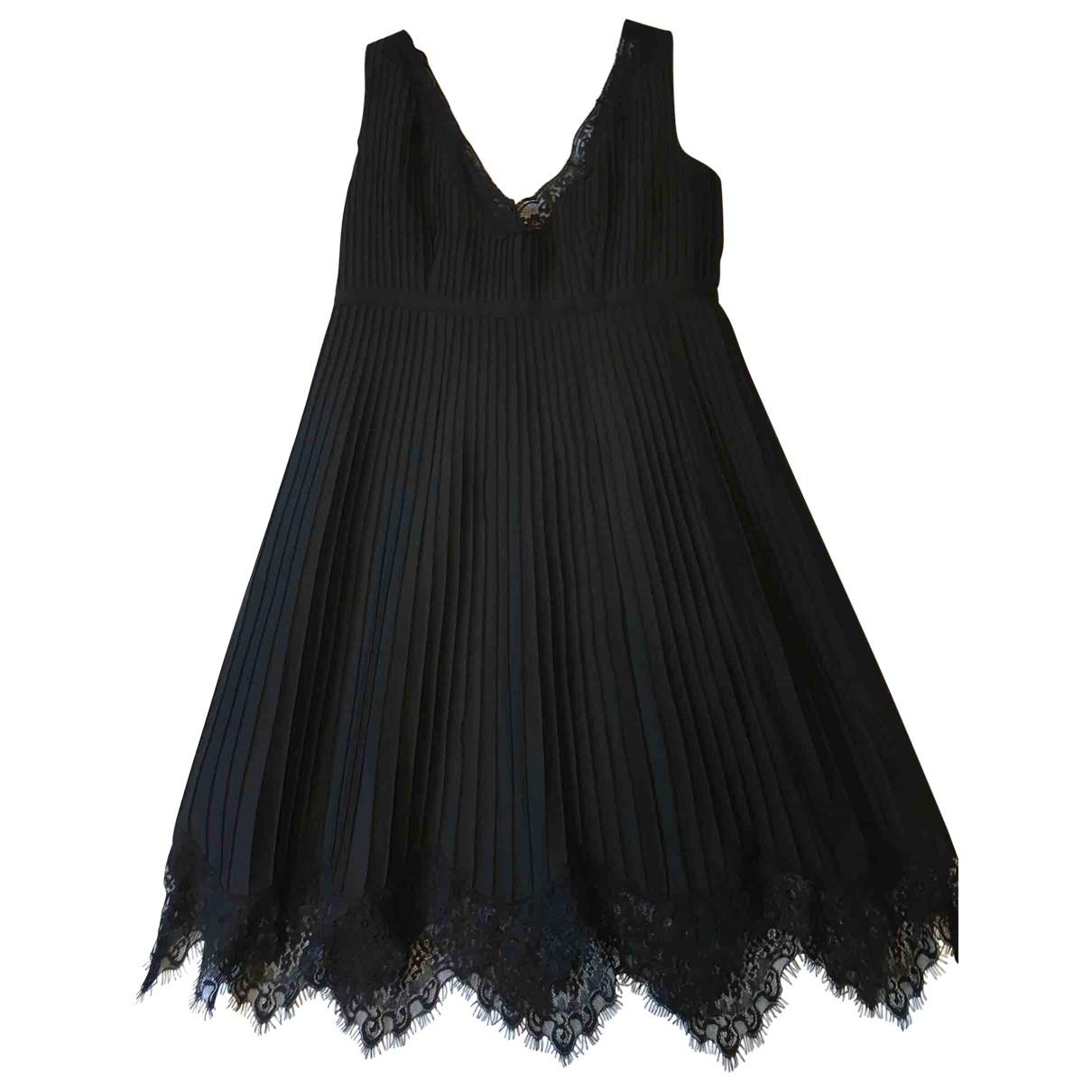 Red Valentino Garavani \N Black Silk dress for Women 40 FR