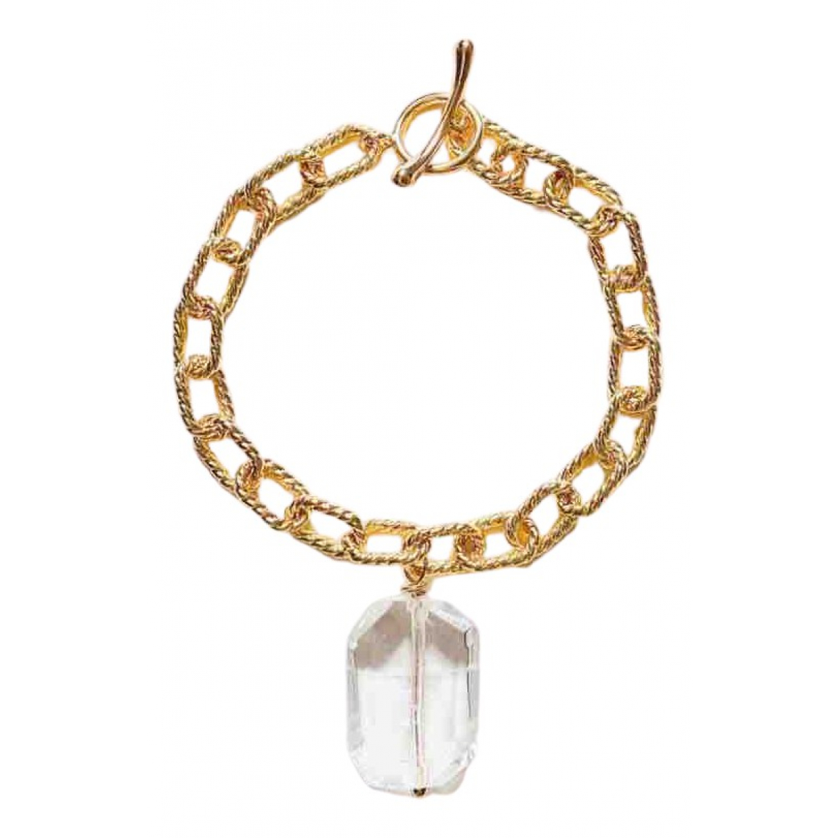 - Bracelet Chaines pour femme en plaque or - dore