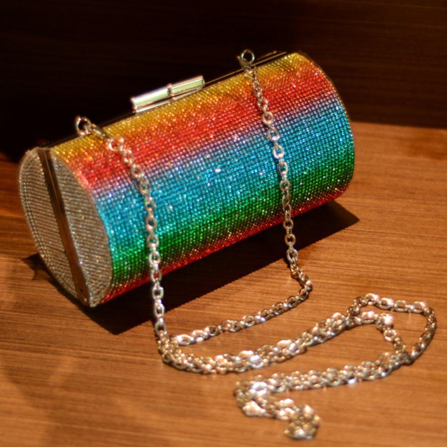 LW lovely Trendy Chain Strap Multicolor Crossbody Bag