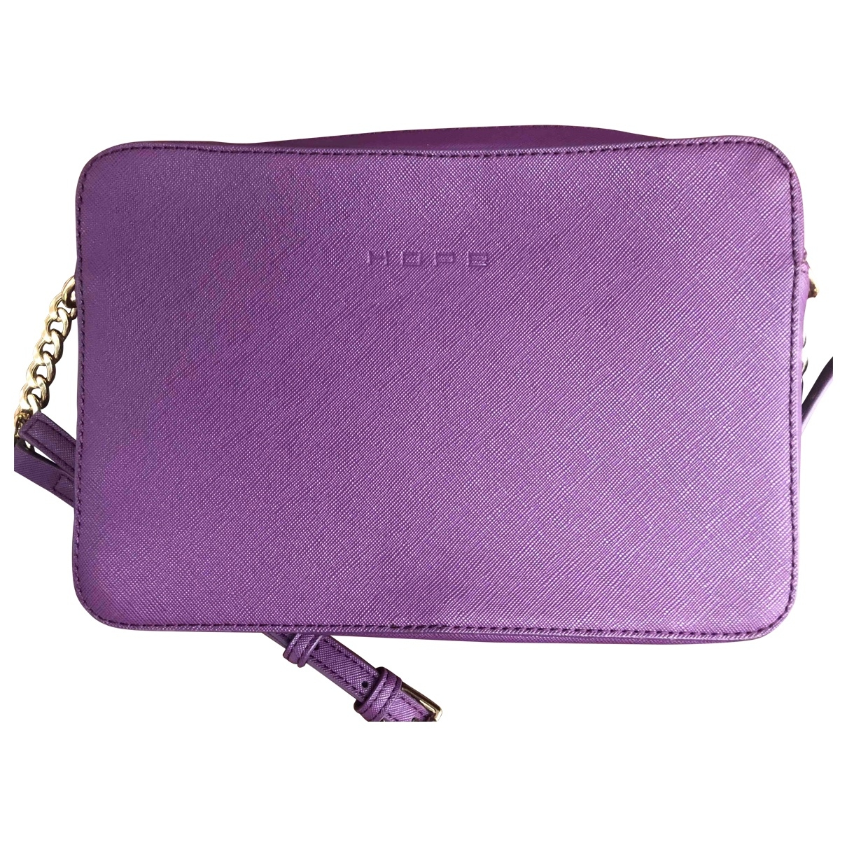 Hope \N Clutch in  Lila Polyester