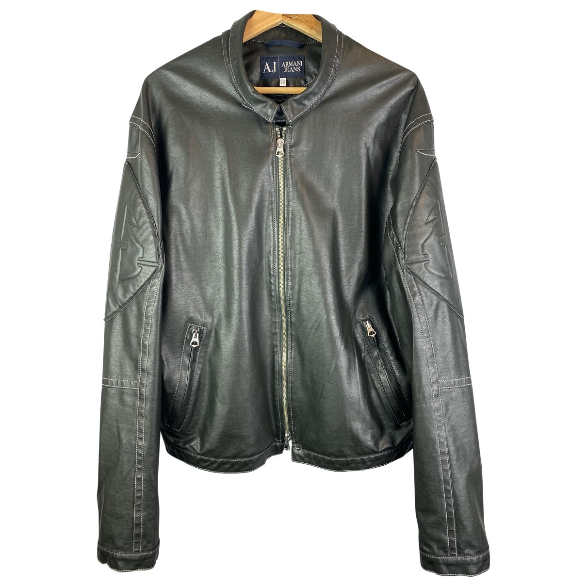 Armani Jeans \N Black jacket  for Men 52 IT