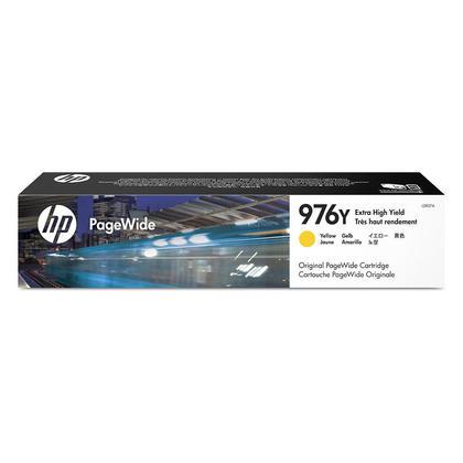 HP 976Y L0R07A cartouche d'encre PageWide originale jaune extra haute capacit�