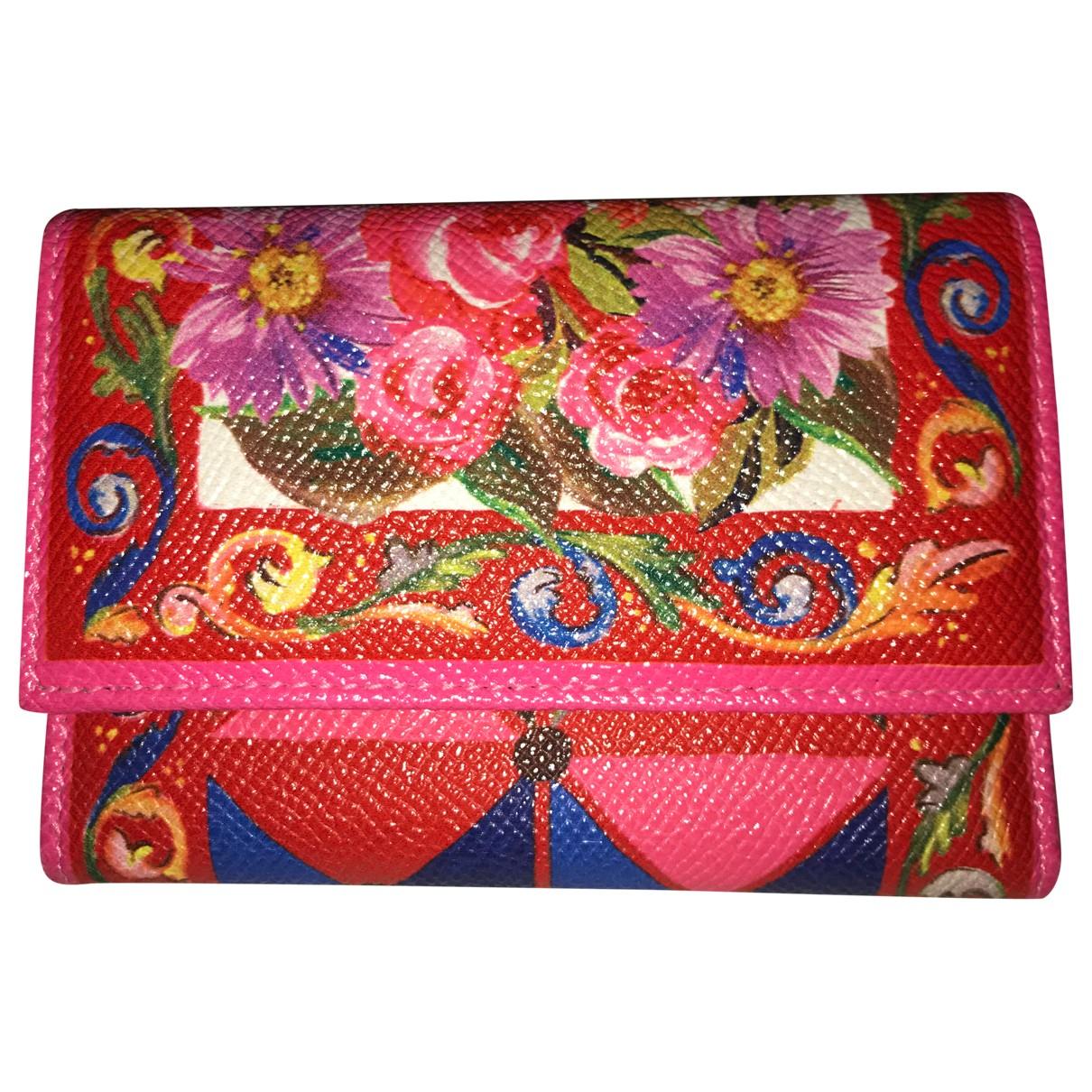 Dolce & Gabbana N Multicolour Leather wallet for Women N