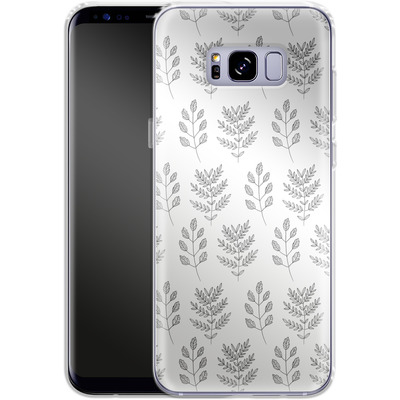 Samsung Galaxy S8 Plus Silikon Handyhuelle - Botanic Studies 2 von Lucy Bohr
