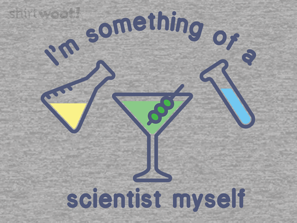 Scientist Drinker T Shirt