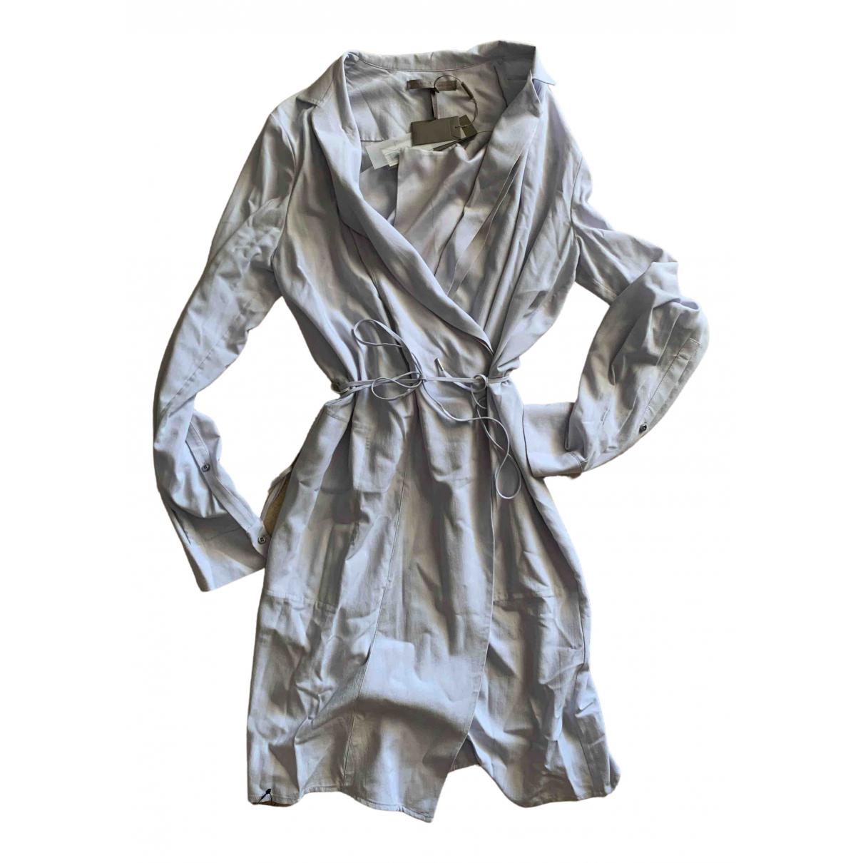 Halston Heritage \N Kleid in  Grau Viskose