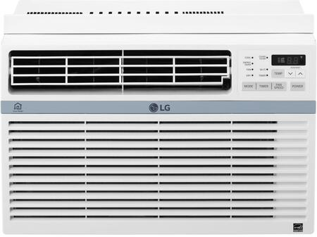 LW1017ERSM 10000 BTU Window Air Conditioner with LG SmartThinQ Works with Google Assistant/Amazon Alexa  Electronic Touch Controls with Remote