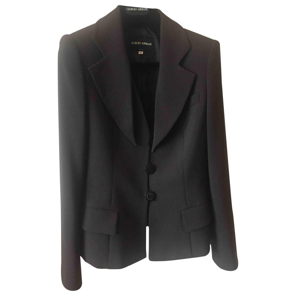 Giorgio Armani \N Wool jacket for Women 38 IT
