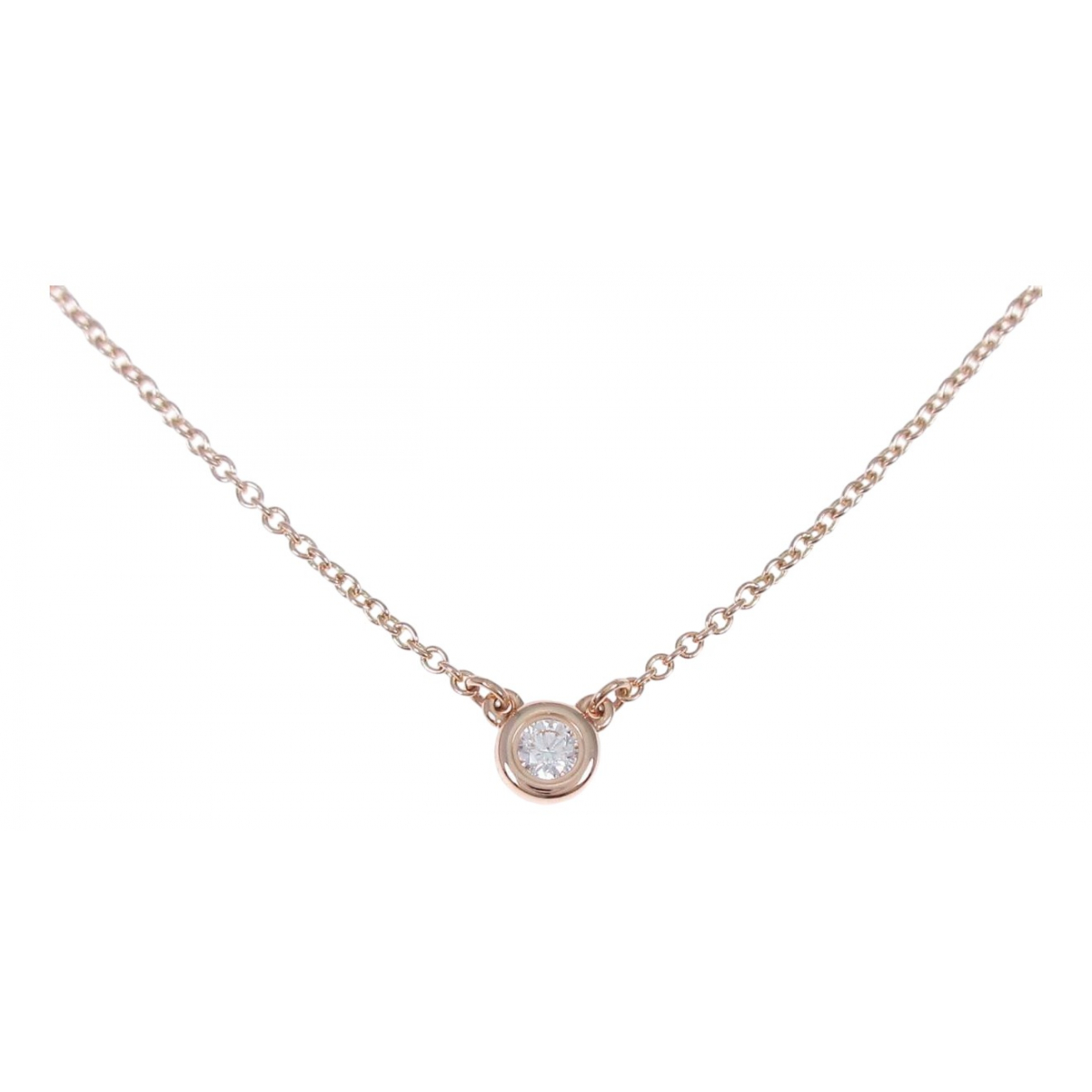 Tiffany & Co \N Kette in Rosegold