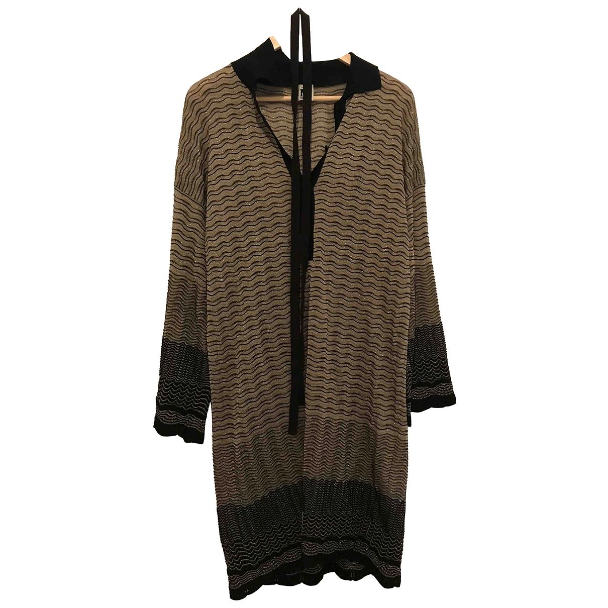 M Missoni \N Gold Cotton dress for Women 44 IT