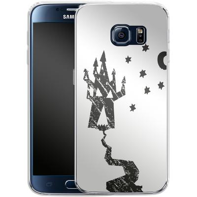 Samsung Galaxy S6 Silikon Handyhuelle - Haunted House von caseable Designs