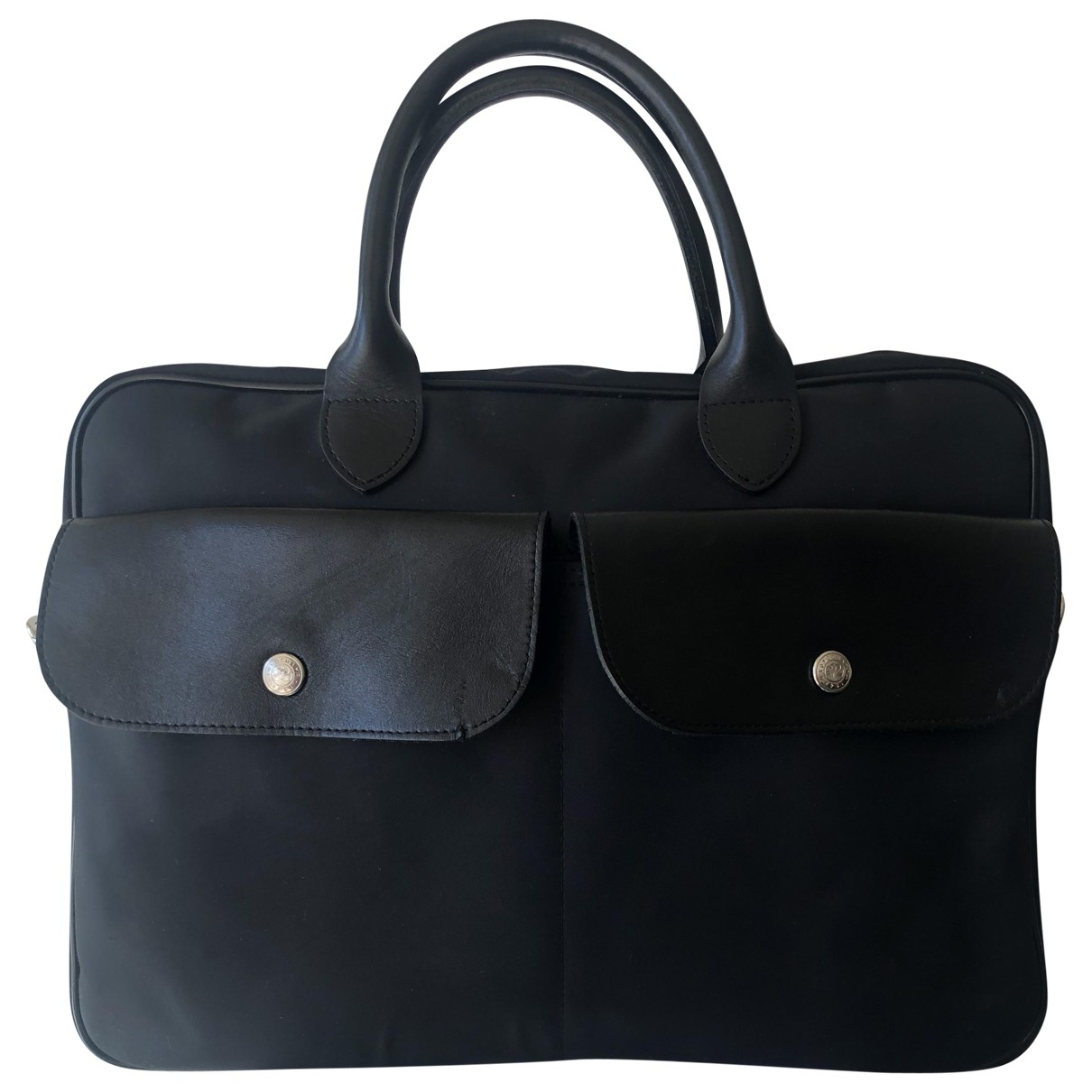 Longchamp \N Black Cloth bag for Men \N