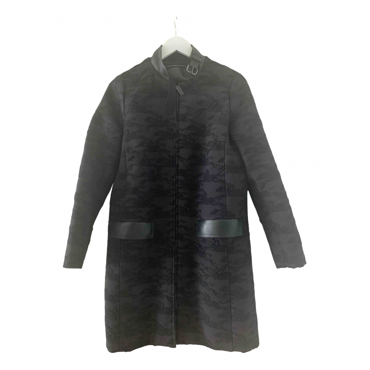 Longchamp - Manteau   pour femme - noir