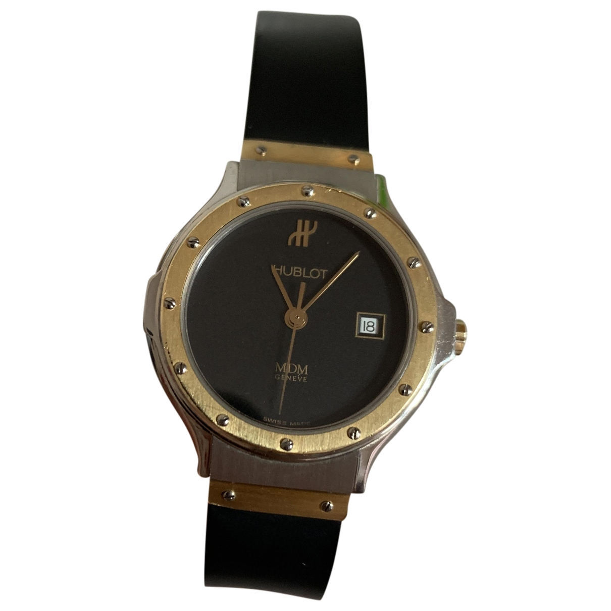Hublot MDM Black Gold plated watch for Women \N