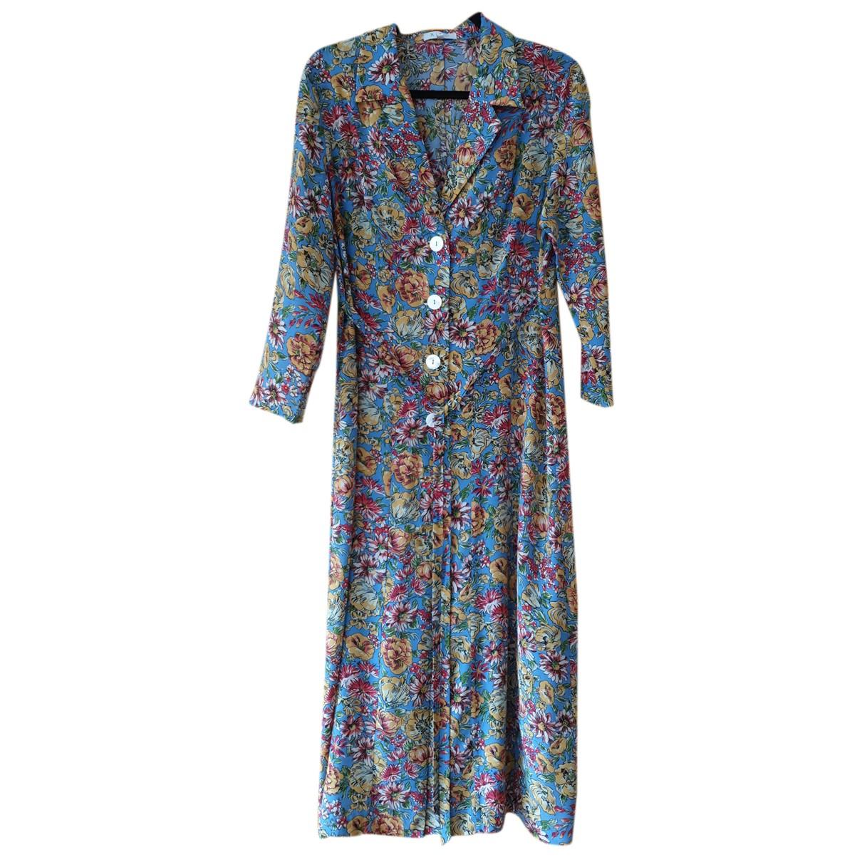 Rixo N Multicolour Silk dress for Women M International