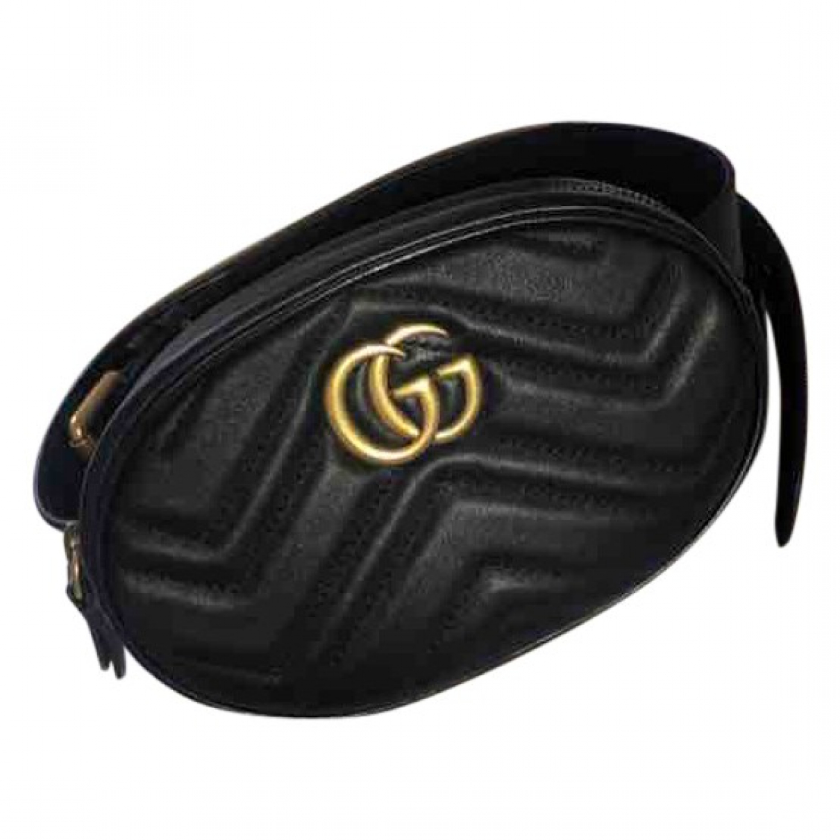 Gucci Marmont Black Leather Clutch bag for Women \N