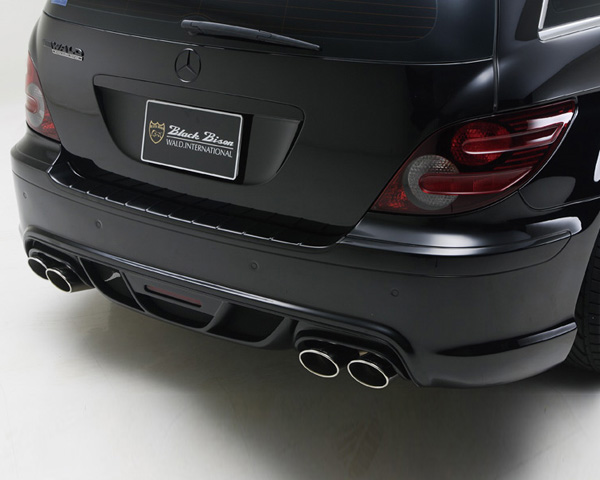 Wald International W251.BB.RB.06 Black Bison Rear Bumper Mercedes-Benz R-Class 06-12