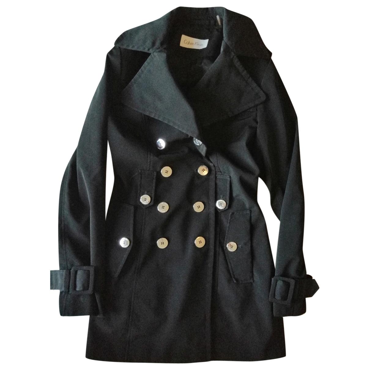Calvin Klein - Manteau   pour femme - noir