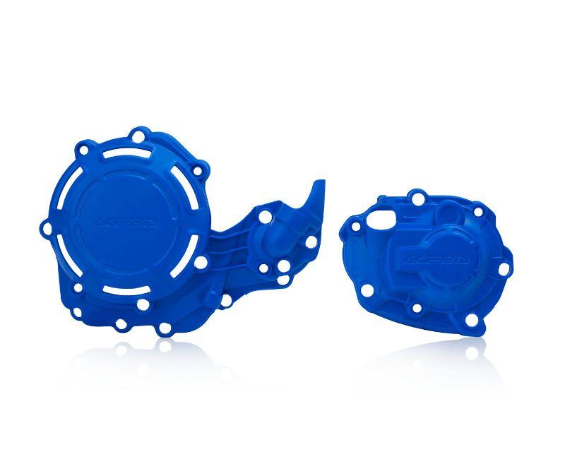 Acerbis 2780690211 X-Power Case Saver Kit Blue Yamaha YZ250 06-20