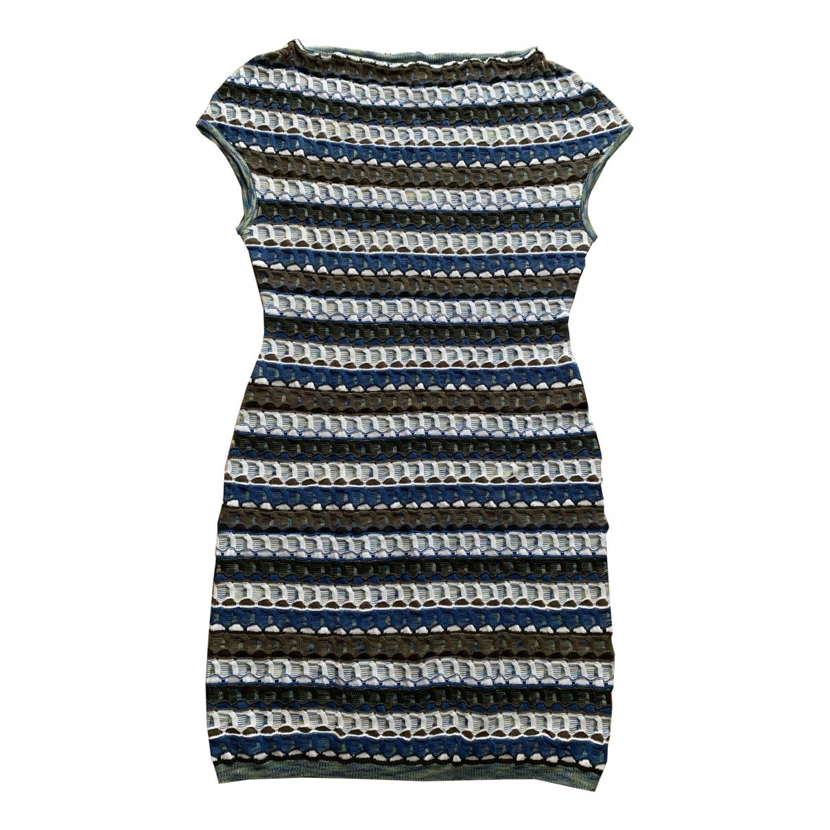 Missoni \N Kleid in  Blau Baumwolle