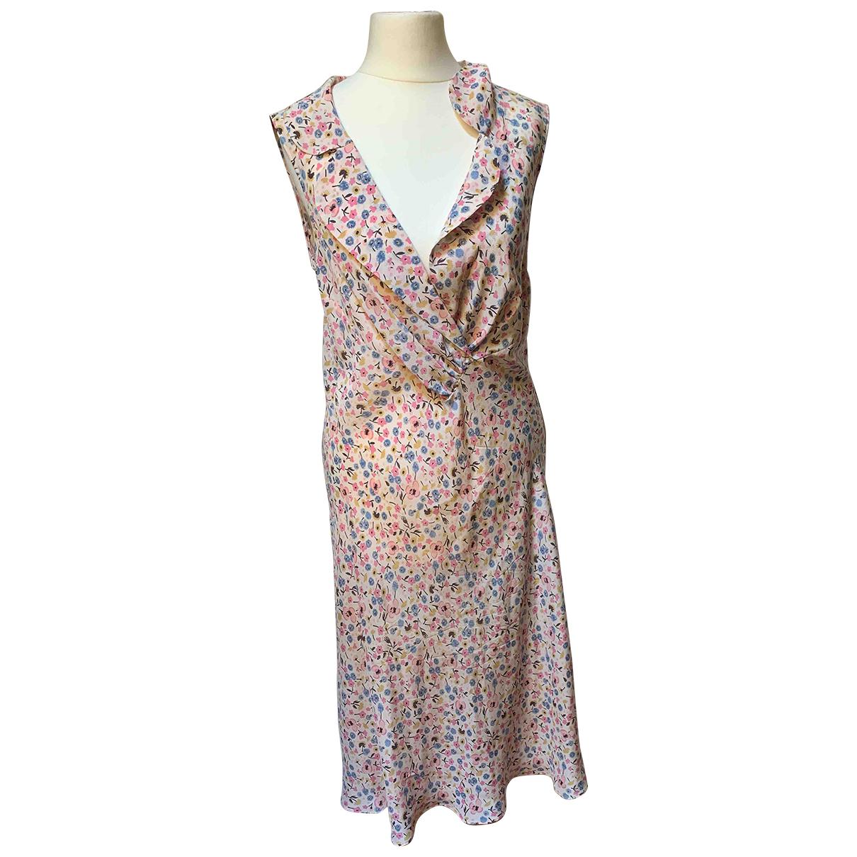 Aspesi \N White Silk dress for Women 44 IT