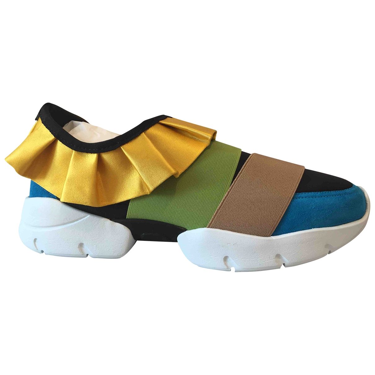 Emilio Pucci \N Sneakers in  Bunt Leinen